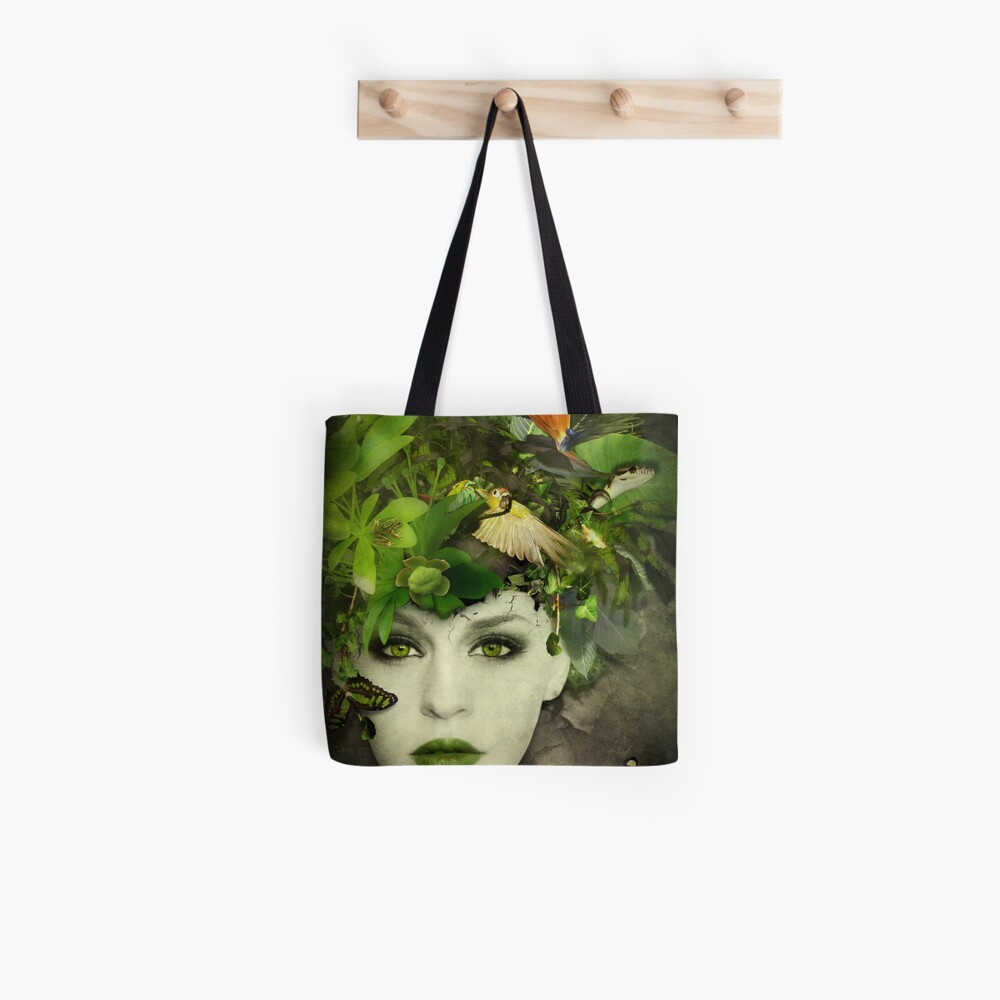 It's A Jungle In There! Tote Bag