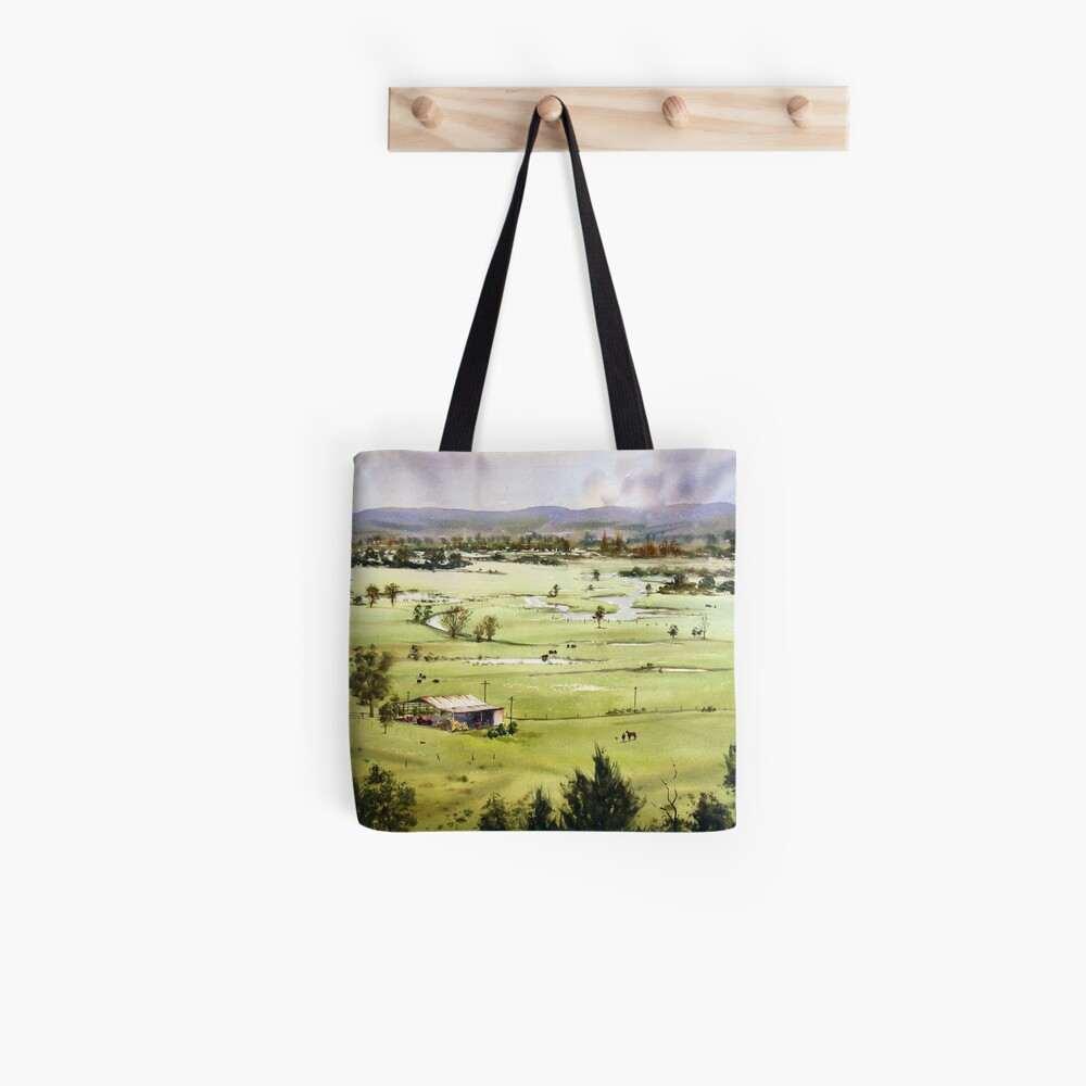 From Streeton Lookout, Freemans Reach Tote Bag
