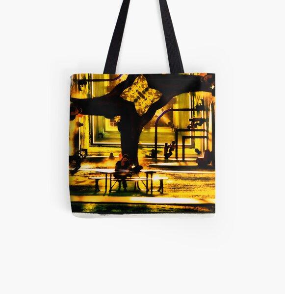 Dimension All Over Print Tote Bag