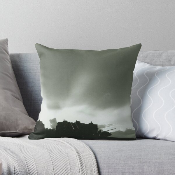 Sun Rays From Williamsburg Throw Pillow