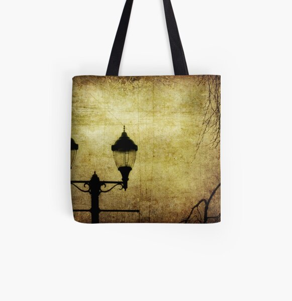 Street Lanterns All Over Print Tote Bag
