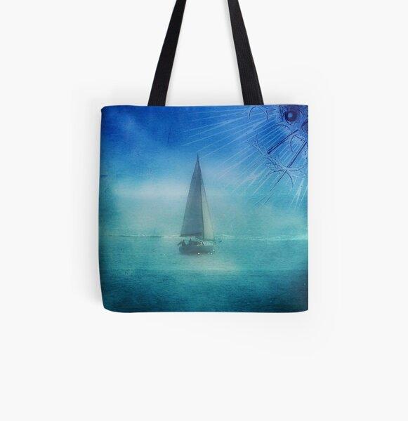 Saying Good-Bye!!! ©  All Over Print Tote Bag