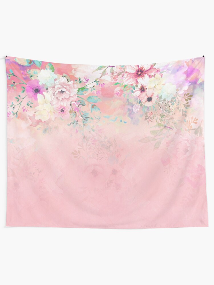 Alternate view of Botanical Fragrances in Blush Cloud-Ιmmersed Tapestry