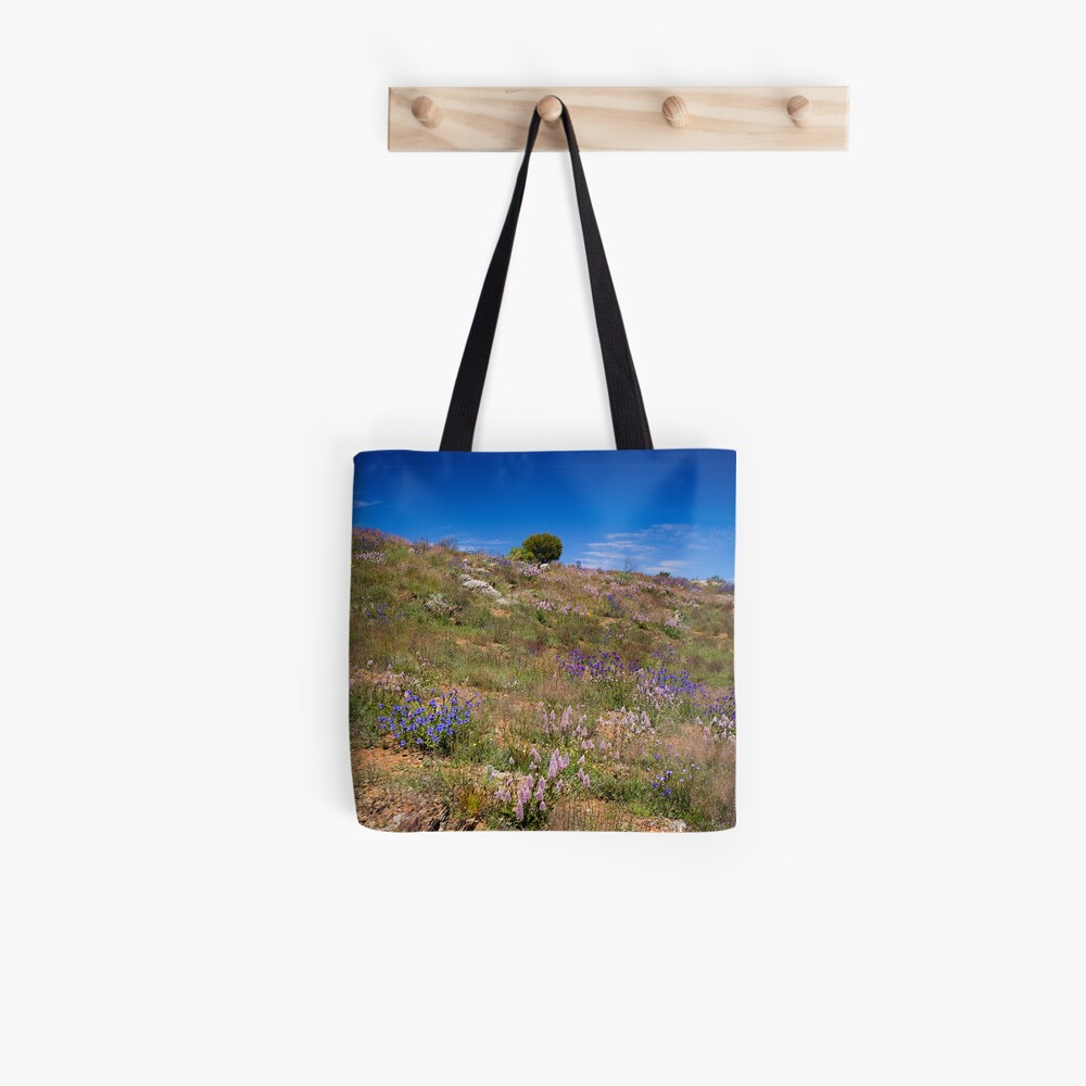 Hill of Flowers Tote Bag