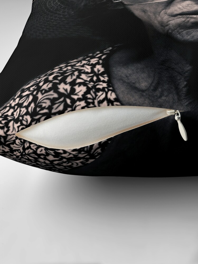 Alternate view of Another day, another wanton, lustful look Throw Pillow