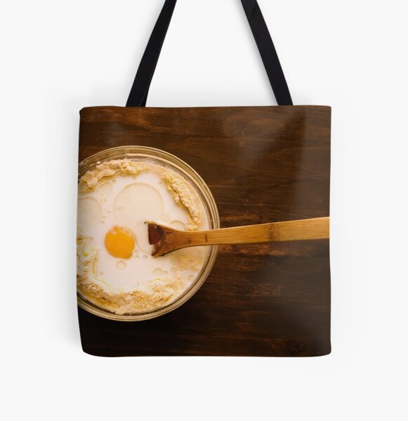 Cornbread From Scratch All Over Print Tote Bag