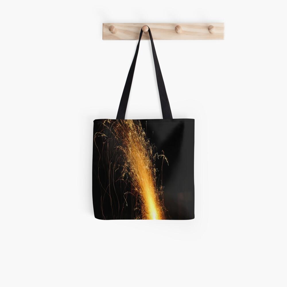 Garden Volcano Tote Bag