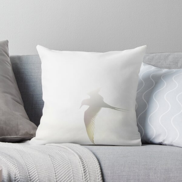 Arctic tern 1 Throw Pillow