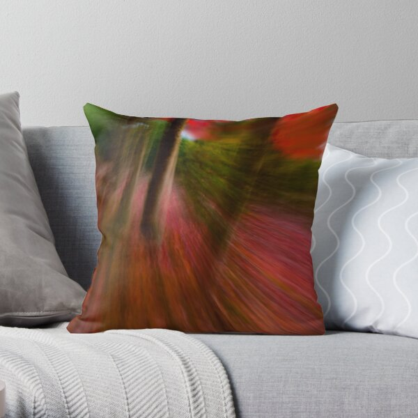 FALLing at Full Speed Ahead Throw Pillow