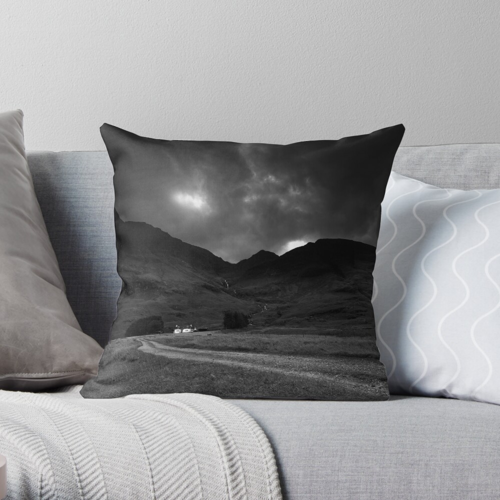 Twin cottages Throw Pillow