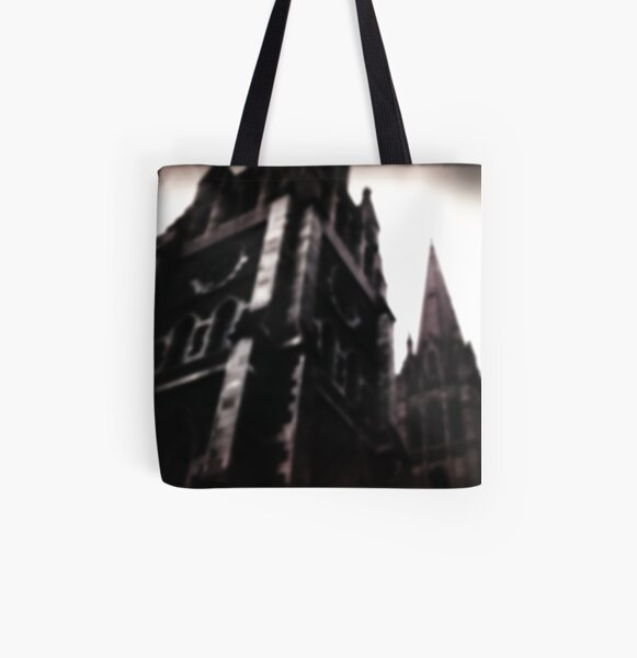 Ghosts All Over Print Tote Bag