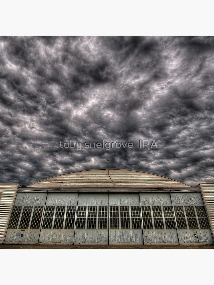 Hanger at Boundary Bay Airport by tobysnelgrove