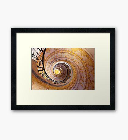 Staircase at Melk Framed Print