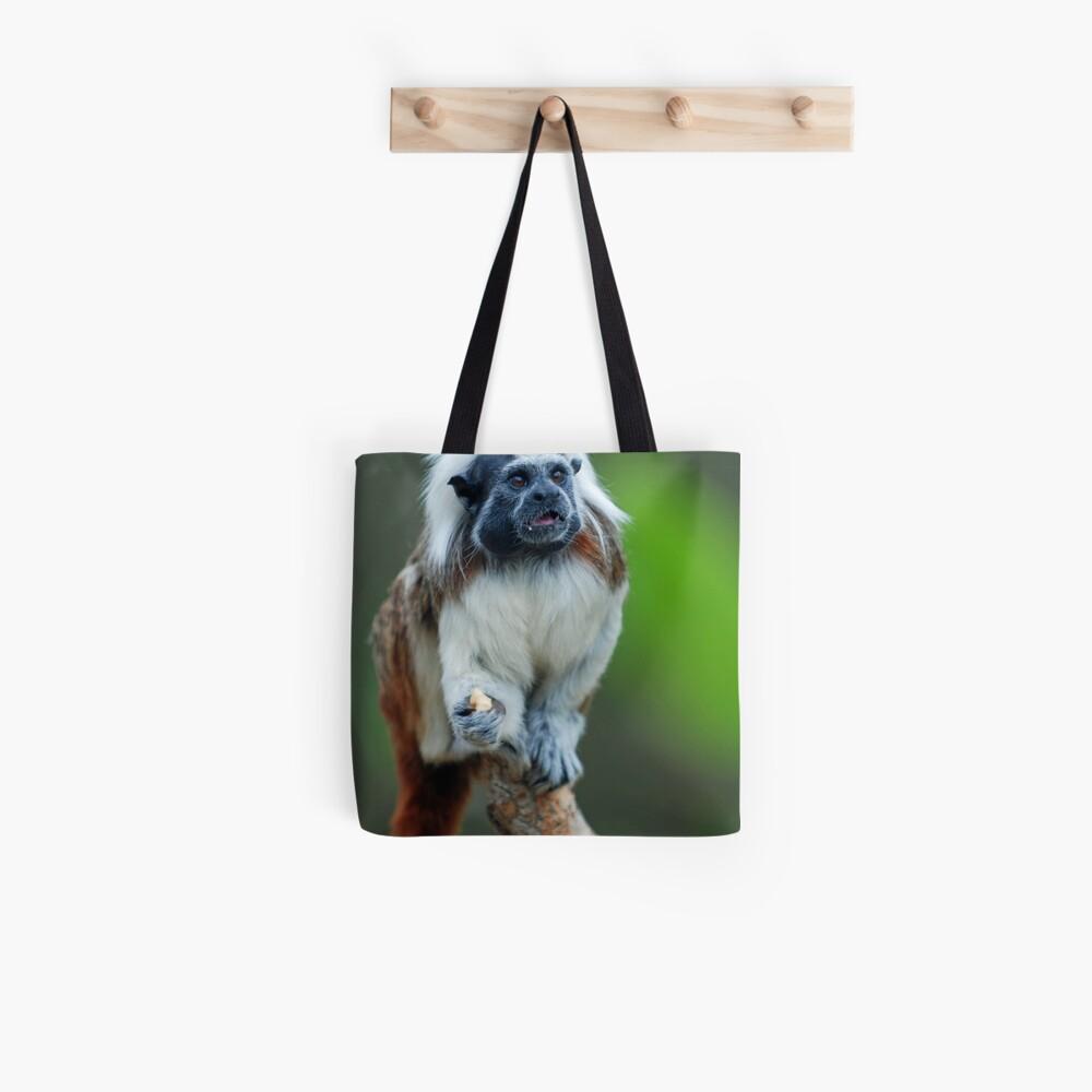 Cotton Top Tamarin Tote Bag