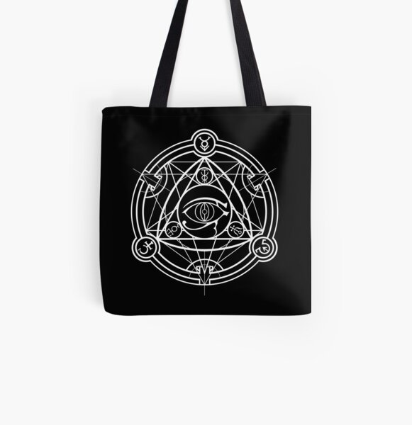 Shadow School Crest All Over Print Tote Bag