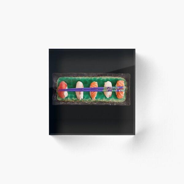 Sushi plate Acrylic Block
