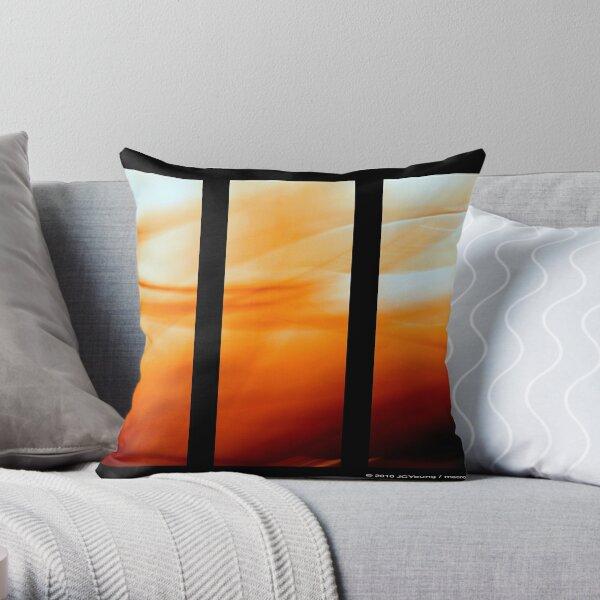 Glory of Sun Throw Pillow