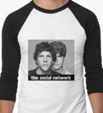 The Social Network Men's Baseball ¾ T-Shirt