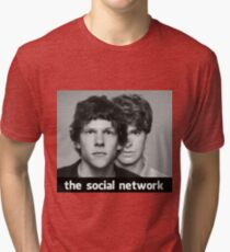 The Social Network Tri-blend T-Shirt