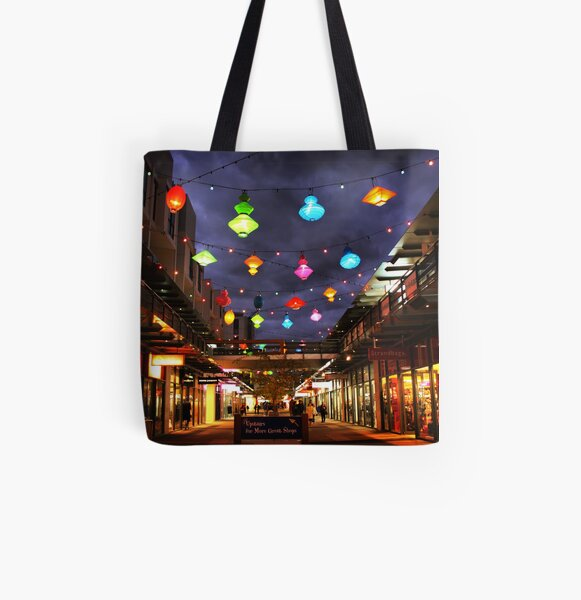 Chinese lanterns - Harbour Town All Over Print Tote Bag