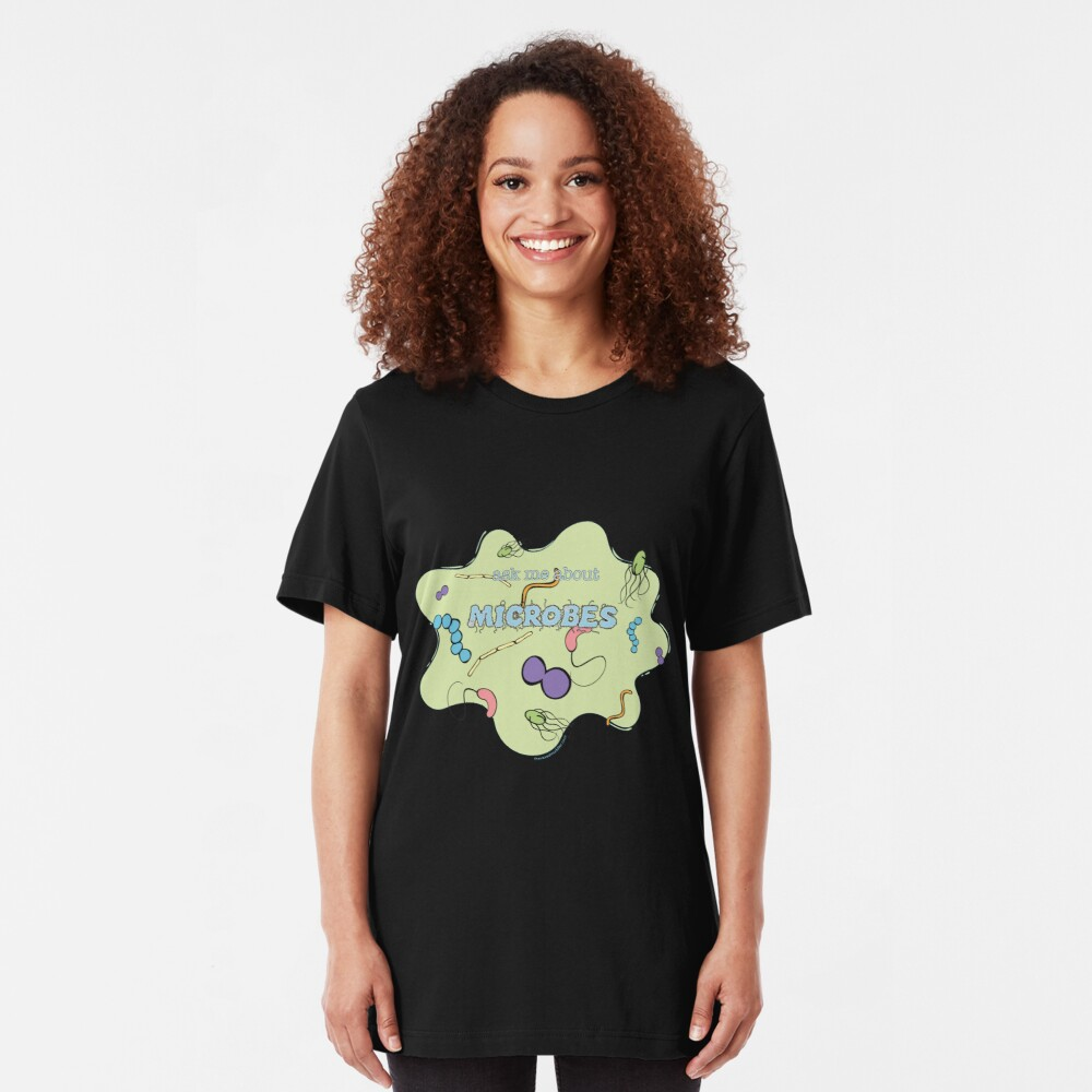Ask me about MICROBES Slim Fit T-Shirt
