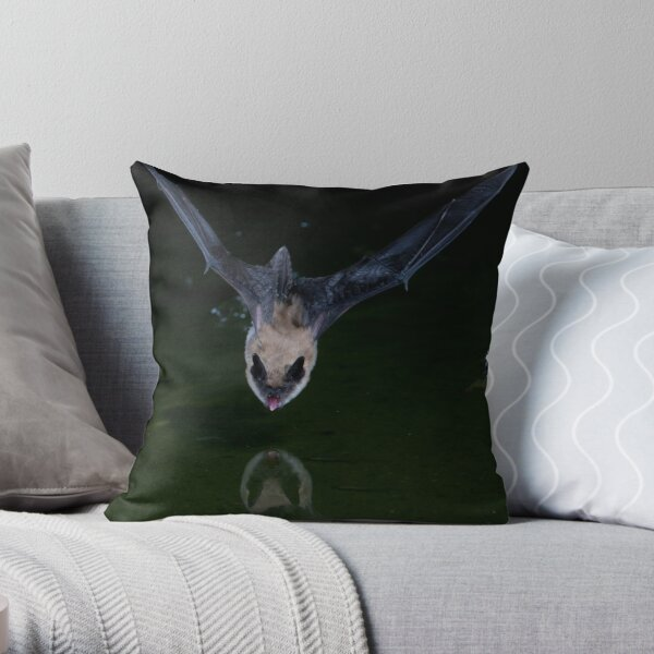Drinking on the Fly Throw Pillow