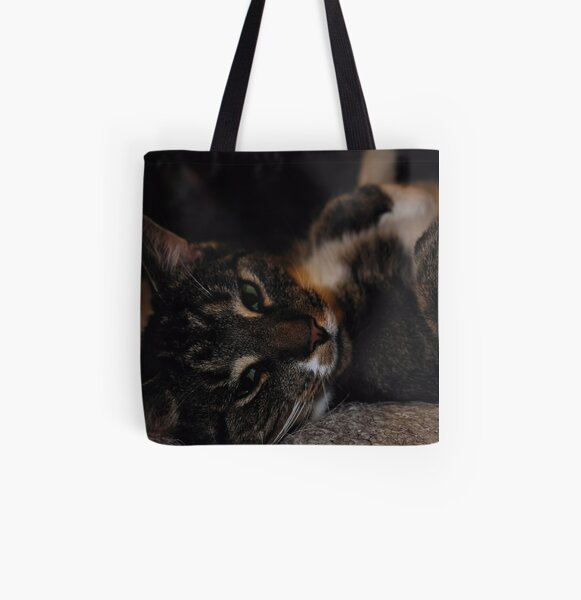 Mr Dribbles Plays Coy All Over Print Tote Bag