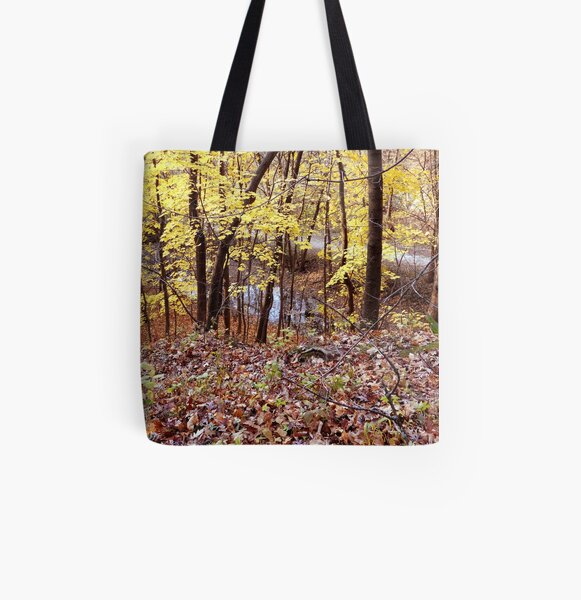 Autumn Glow All Over Print Tote Bag