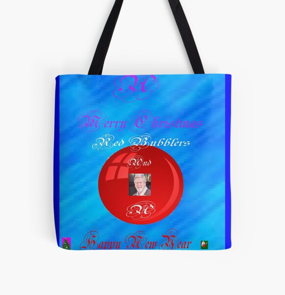 A bubbly Christmas All Over Print Tote Bag