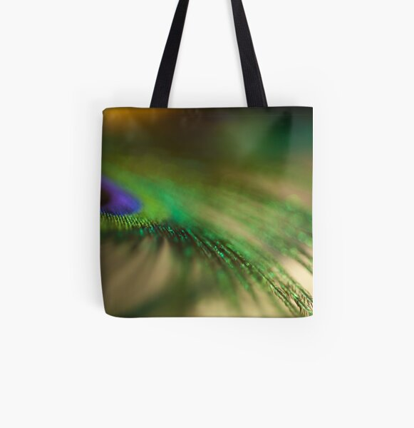 Fan Dance All Over Print Tote Bag