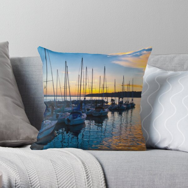 Pacific Mariner Throw Pillow