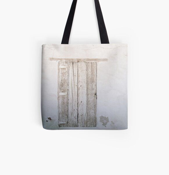 White wash All Over Print Tote Bag