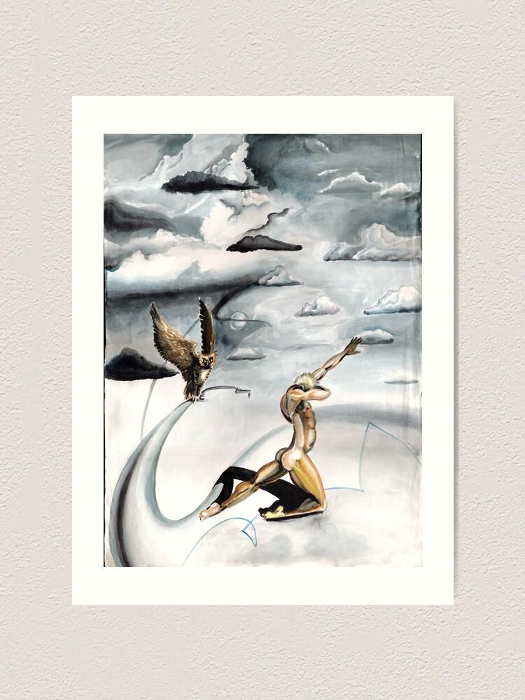 Alternate view of Grey Skies Art Print
