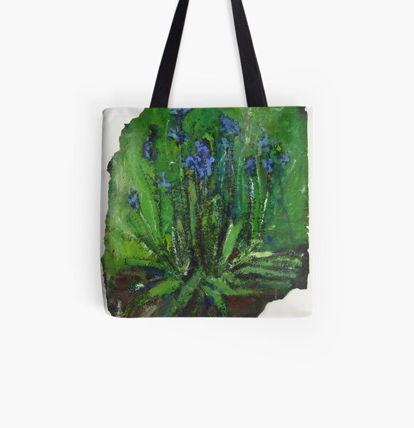 Blue Bells All Over Print Tote Bag