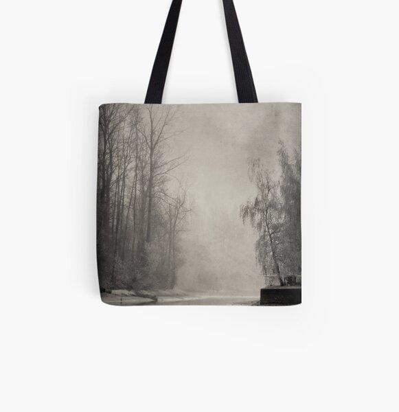 Lone Walker All Over Print Tote Bag