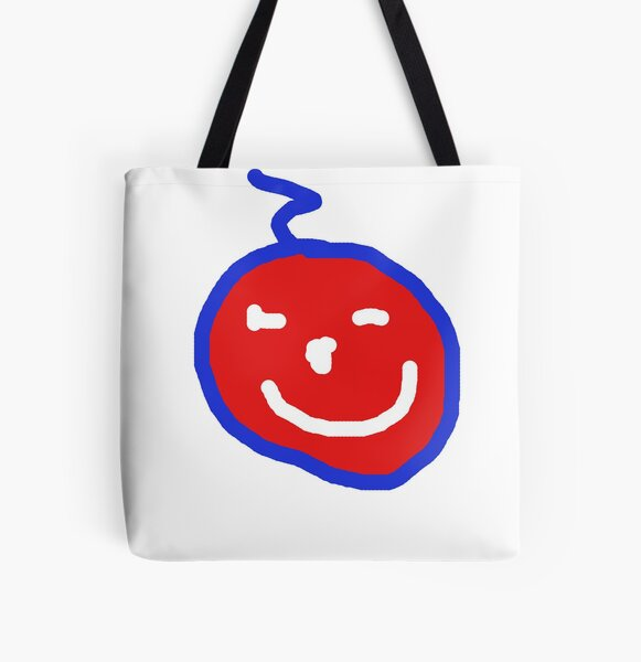 Smile! Your on red bubble:) All Over Print Tote Bag