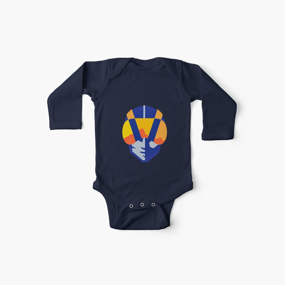 Blue Las Vegas aviators logo Baby One-Pieces