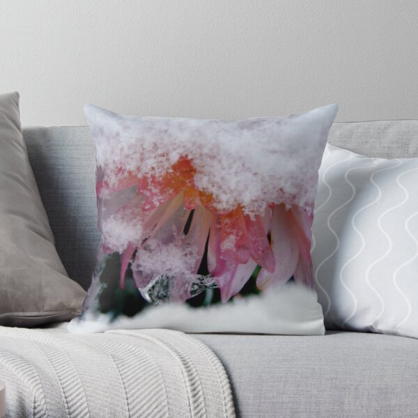 Deep Self Care: The Winter's Gift Throw Pillow