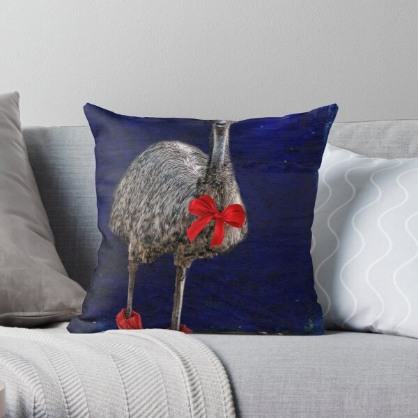 merry christmas from downunder! Throw Pillow