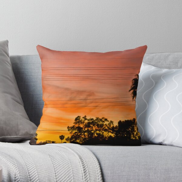 Tempe Sunset 2 Throw Pillow