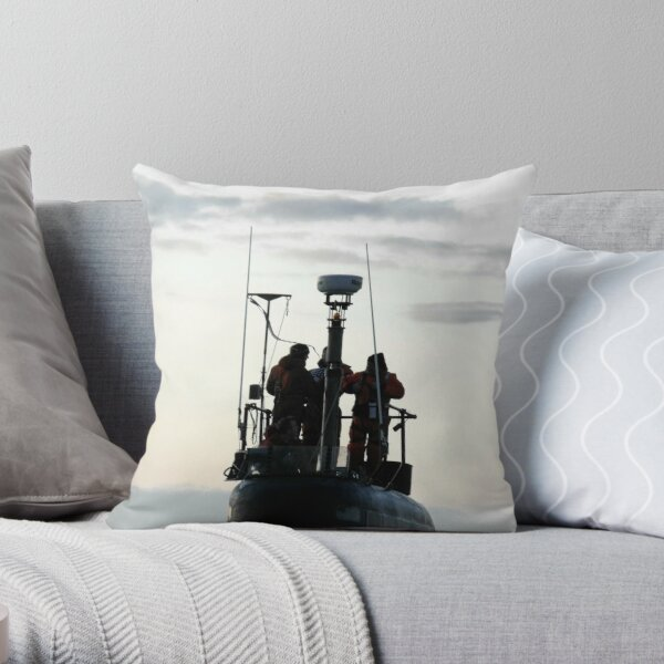 All along the watch tower Throw Pillow