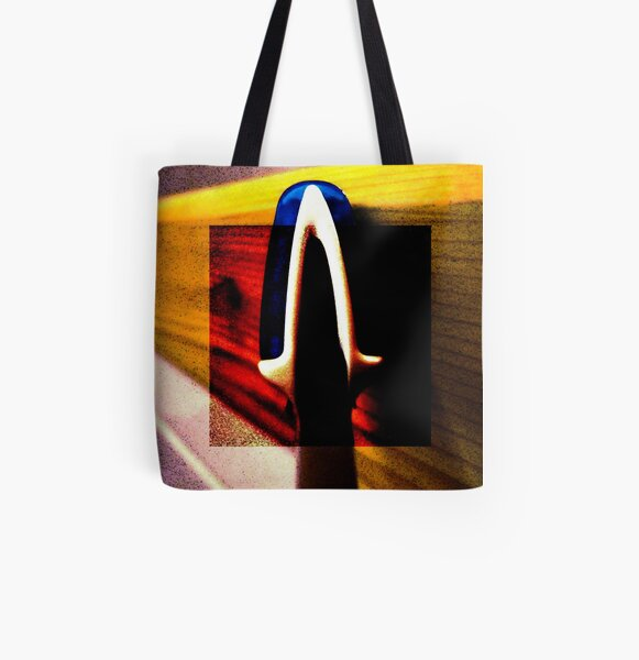 Smile All Over Print Tote Bag
