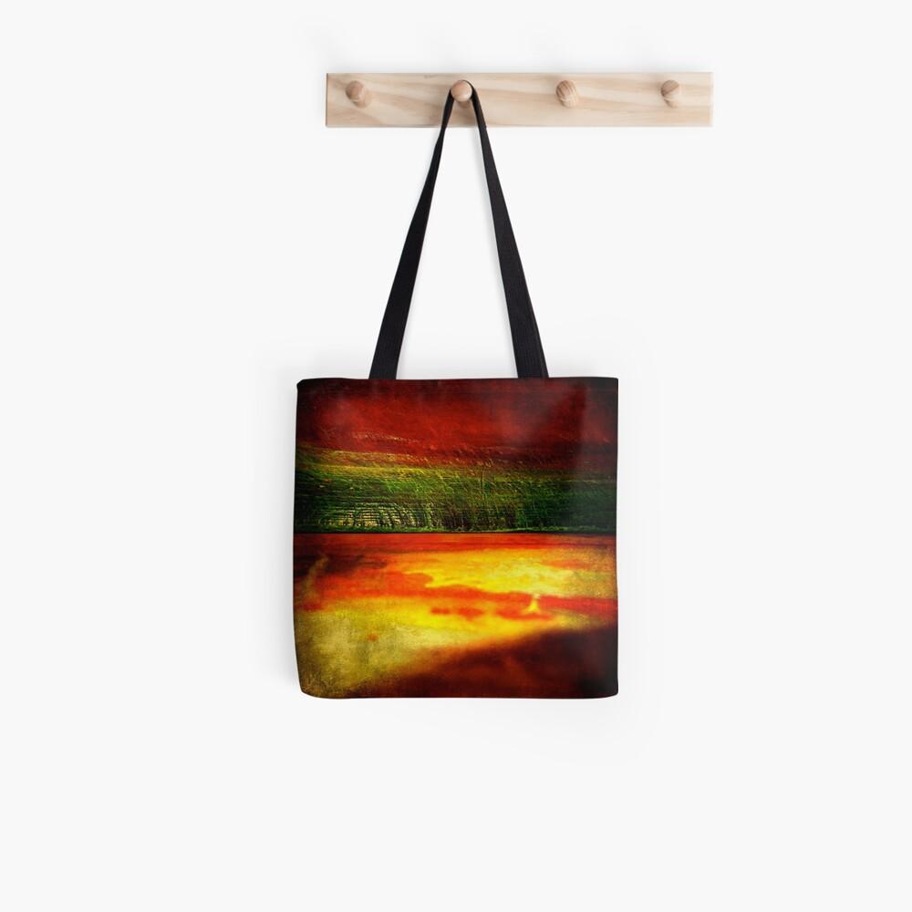 Horizontal Rainbow Tote Bag