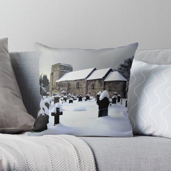 St Cuthbert's Dalmeny Throw Pillow