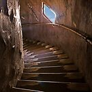 Stairway at the Watch Tower by Sue  Cullumber