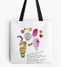 Sugar Brat Girl Tote Bag