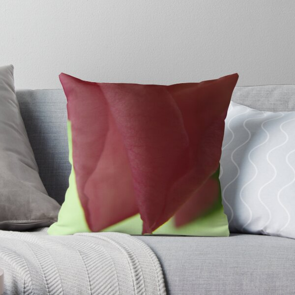 enfold me in your charms... Throw Pillow
