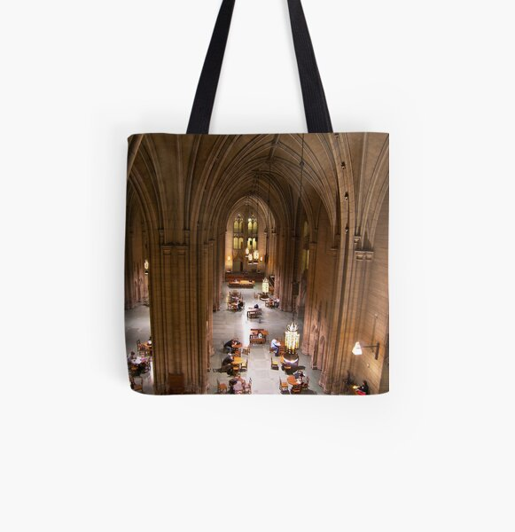Cathedral of Learning All Over Print Tote Bag
