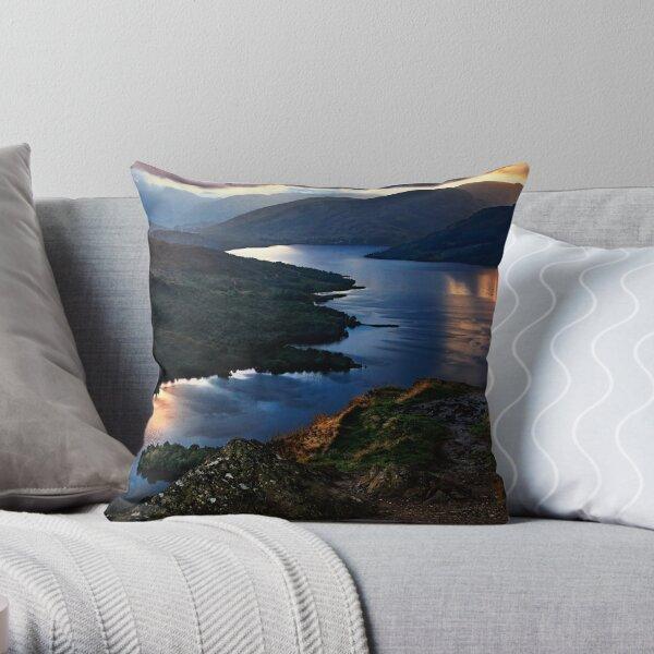 Loch Katrine Throw Pillow