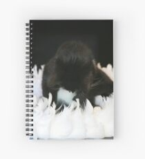 Ring of feathers ..... Spiral Notebook